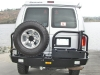Aluminum Off Road Rear Winch Bumper Ford Van