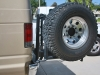 Aluminum Off Road Tire Rack Ford Van