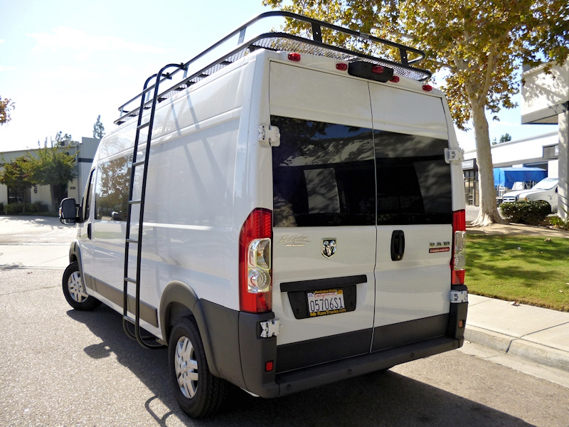 Dodge Promaster Ladders Aluminess