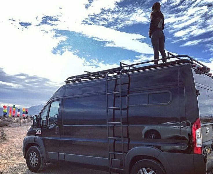 Dodge Promaster Roof Racks Aluminess