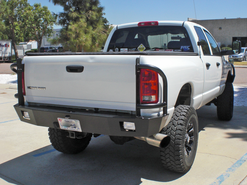 dodge ram rear bumper 2010 2016 aluminess. Black Bedroom Furniture Sets. Home Design Ideas