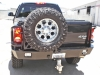 Aluminum Off Road Rear Winch Bumper Dodge Ram