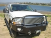 Aluminum Off Road Front Winch Bumper Ford Excursion