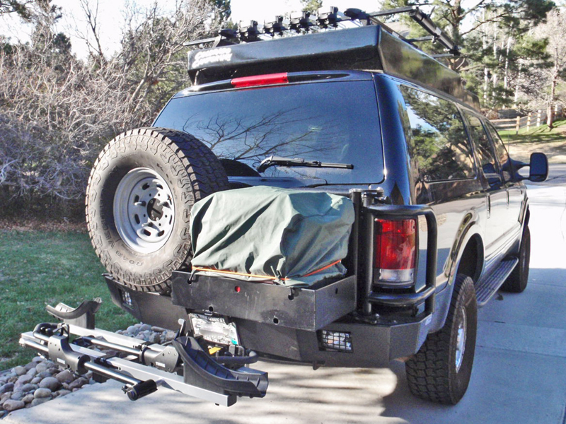Ford Excursion Rear Bumper 99 05 Aluminess