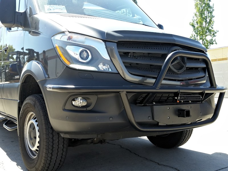 Aluminess Light Bar And Front Hitch Receiver Ford