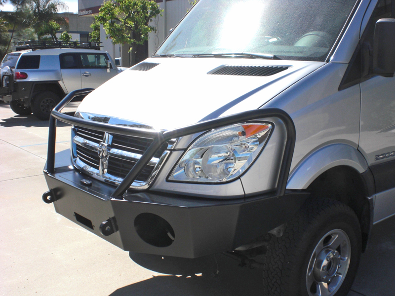 Mercedes Sprinter Winch Bumper Aluminess