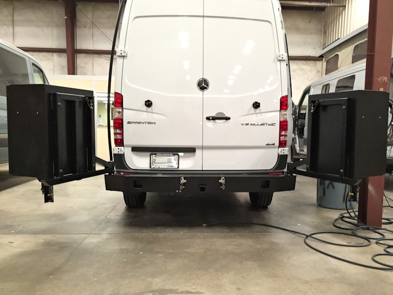 Mercedes Sprinter Rear Bumper Aluminess