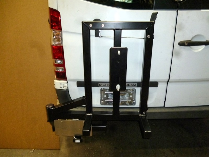 Mercedes Sprinter Tire Rack 07 18 Aluminess