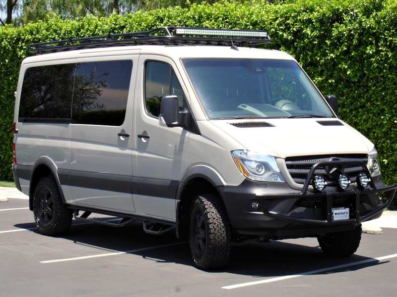 Mercedes Sprinter Nerf Bars Aluminess