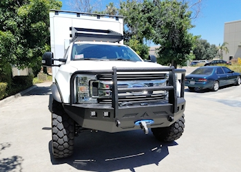 Ford Super Duty Front Winch Bumper 2017-Current