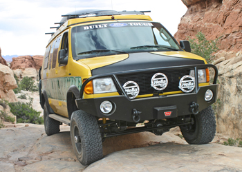 Ford Van Front Winch Bumper