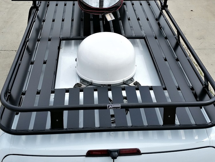 Aluminum Roof Rack Vent Cutout