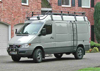Sprinter 2003 2006 Ladders Aluminess