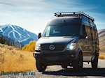 Sprinter 144 Tall Roof Aluminum Double Loop Roof Rack Style