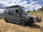 Sprinter 144 Aluminum Touring Roof Rack with Slats Style