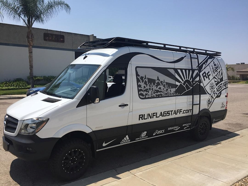 Sprinter Roof Rack Standard Racks Aluminess
