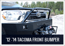 Toyota Tacoma Front Winch Bumper 2012-2015