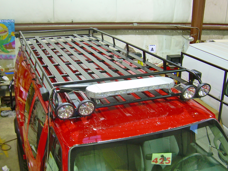 Roof Racks Aluminess Products Inc