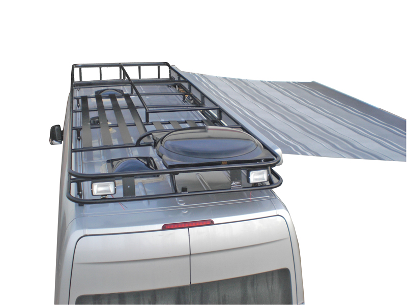 Track Mount  Aluminum Roof Rack