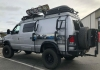 Ford Van Surf Pole and Paddle Board Carrier