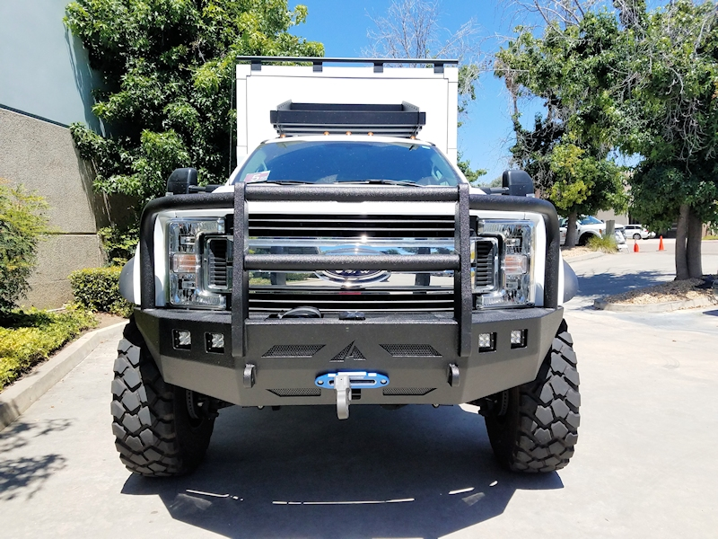 Ford Trucks 2017 Current Front Winch Bumper Aluminess