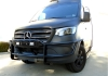 2019 Mercedes Sprinter Hidden Winch Mount & Receiver & Light Bar