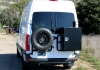 2019 Sprinter Rear Door Box and Tire Carrier
