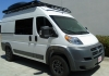 Dodge Promaster Aluminess Roof Rack Touring Style with Fiamma 45s Awning