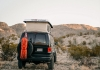 Aluminess - Ford Van Off Road Tire Rack