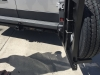 Dodge Promaster Tire Rack - Open