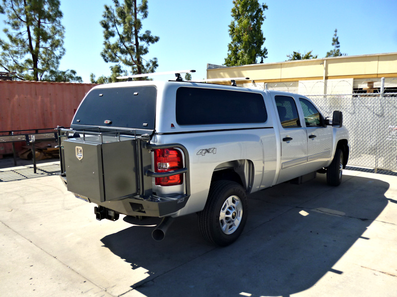 Chevy Silverado Rear Bumper 2011-2014
