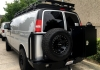 Chevy Express Roof Rack - Double Loop with Perforated Flooring
