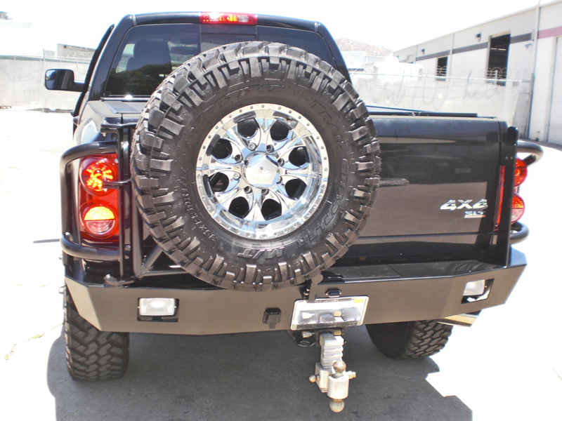 Dodge Ram Rear Bumper 2006 2009 Aluminess