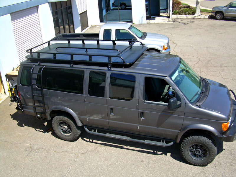 Van Roof Racks >> Ford Van Roof Racks Aluminess