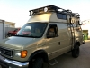Ford Van Roof Rack Fiberglass Top
