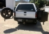 Aluminess Products - Aluminum Off Road Rear Bumper for a Ford Truck