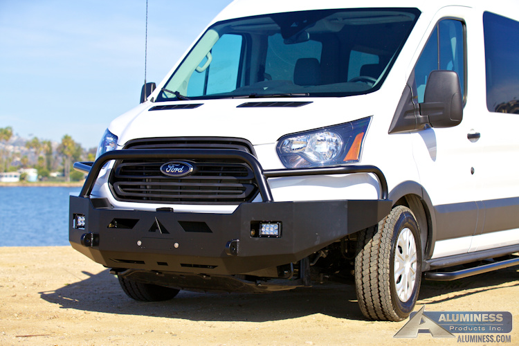 Ford Transit Front Winch Bumper Aluminess