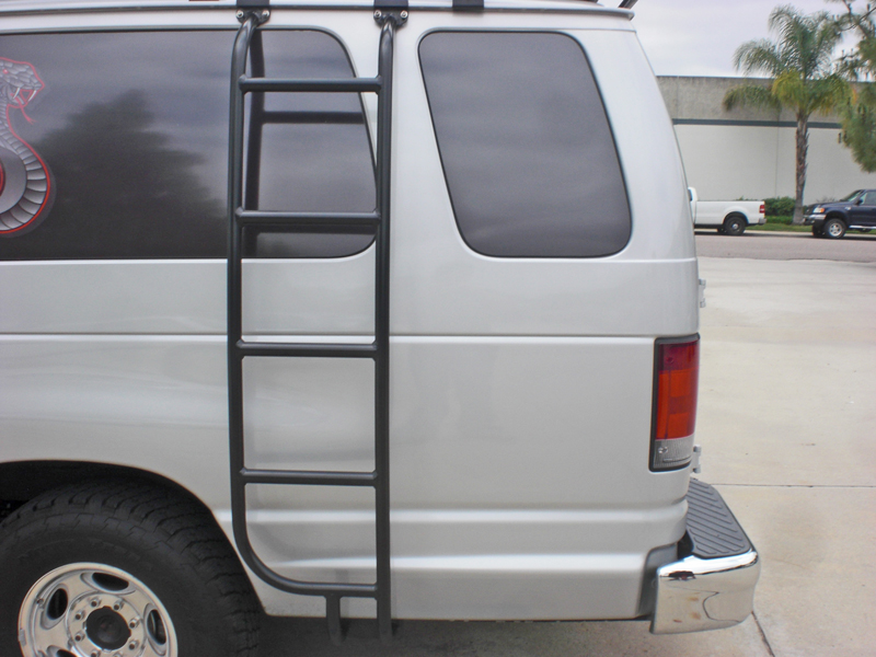 Ford Van Ladders 2008 2014 Aluminess