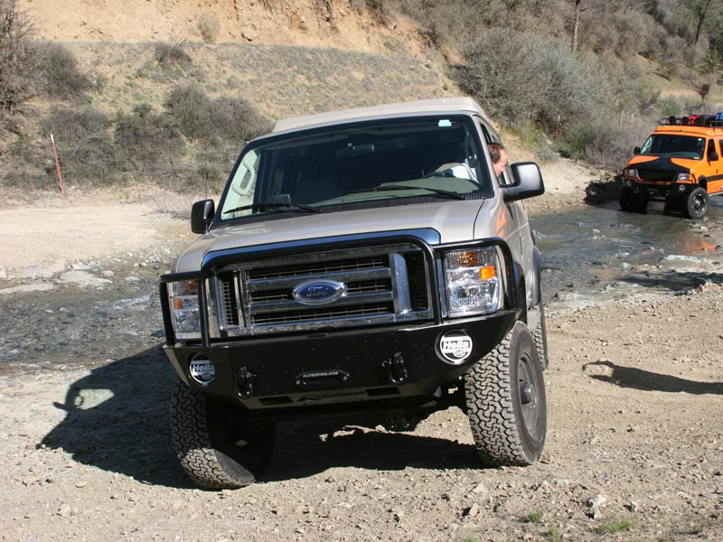 Ford Van Front Winch Bumper 08 14 Aluminess