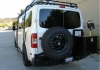 Nissan NV Aluminess Rear Bumper