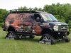 Aluminum Off Road Van Winch Bumpers and Boxes