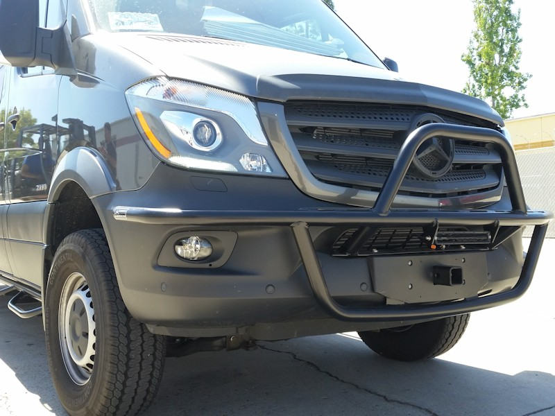 Sprinter Front Receiver Hitch Aluminess