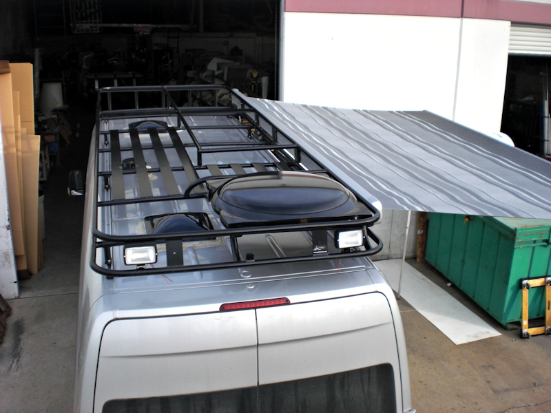 Sprinter Roof Racks on silverado roof rack basket