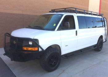 Chevy Van Aluminess Roof Rack