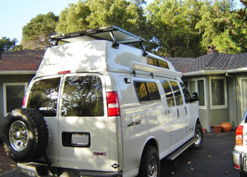 Chevy Express Van Tire Rack