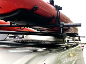 Raised Removable Crossbars (Clamps to Aluminess roof rack)