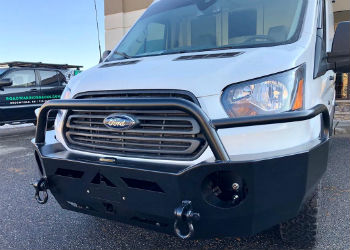 Ford Transit Aluminum Front Winch Bumper