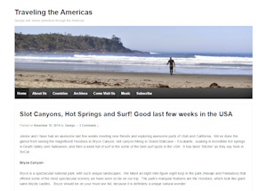 Traveling the Americas Blog
