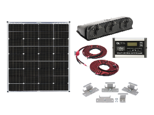 Zamp 115 Watt Solar Panel Kit