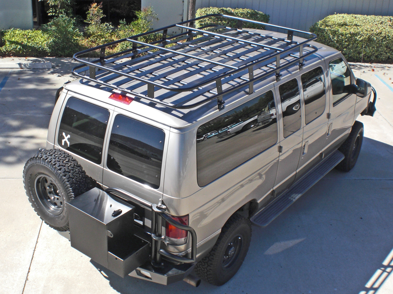 Ford Van Roof Racks Aluminess